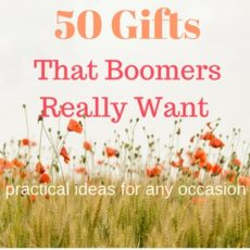 50 Gifts That Boomers Want