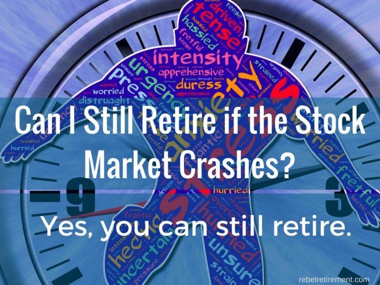 Can I Still Retire if the Stock Market Crashes?