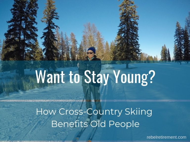 Want to Stay Young? (How Cross Country Skiing Benefits Old People)