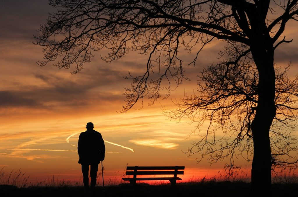 Lonely man - Rebel Retirement