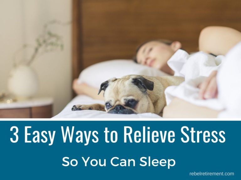 Aging? 3 Easy Ways to Relieve Stress So You Can Sleep