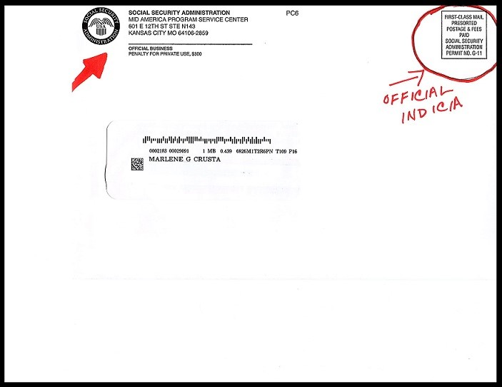 Example of Official SS Letter - Rebel Retirement