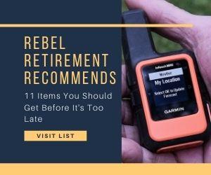 Rebel Retirement Recommends