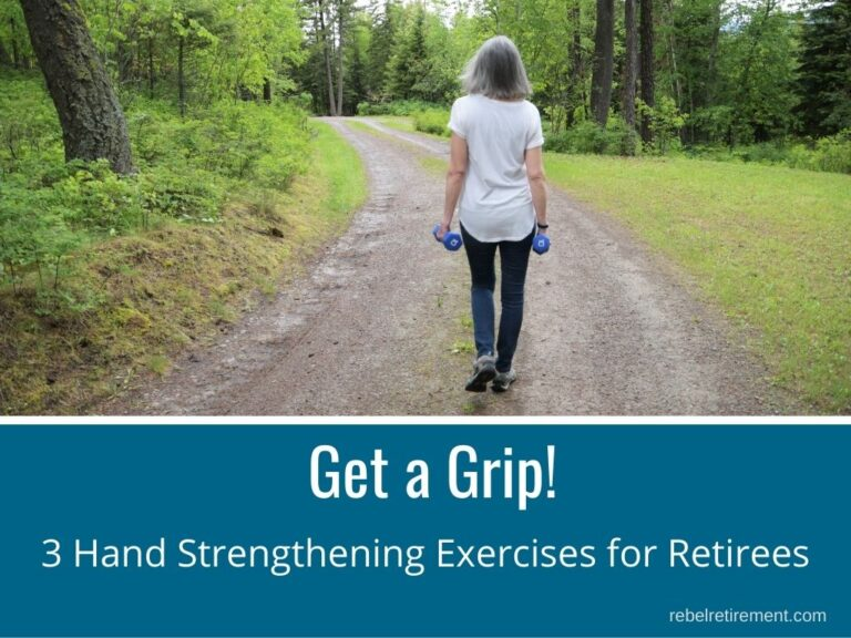 Get a Grip! 3 Hand Strengthening Exercises for Retirees